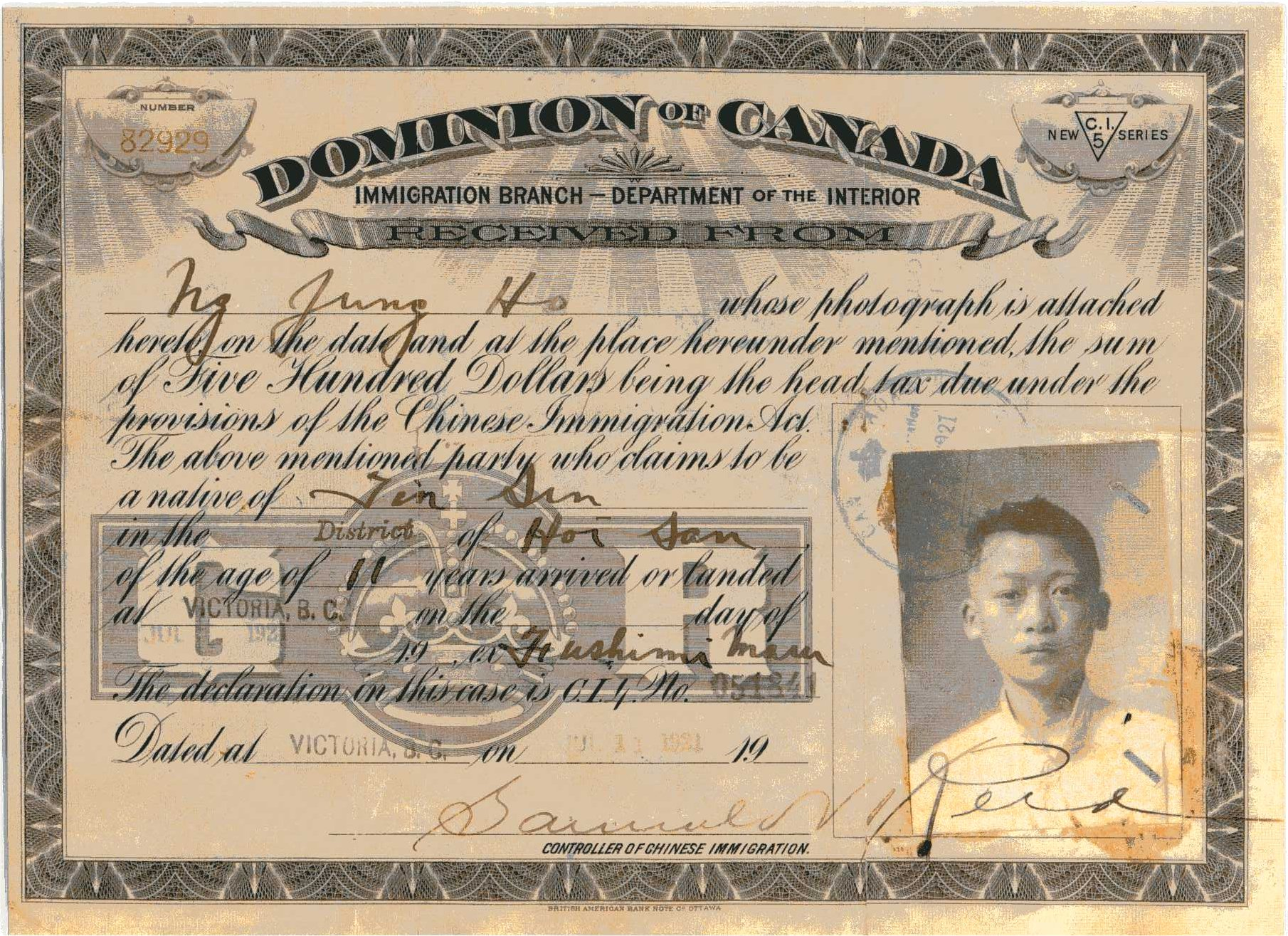 chinese immigrants in canada essay